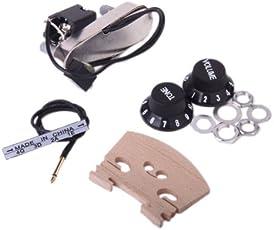 Generic Electric Pickup Bridge Preamp Set for Violin