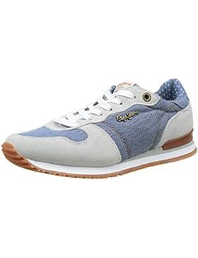 Pepe Jeans Damen Gable Denim Combi Sneakers