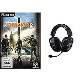 The Division 2 - [PC] Standar Edition + Gaming-Headset (mit Blue VO!CE, DTS Headphone:X 7.1 und PRO-G 50-mm-Lautsprechern, für PC, PS4, Switch, Xbox One, VR) schwarz