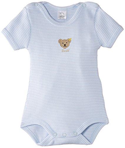 Steiff Unisex - Baby Body 0008643, Gr. 62, Blau (baby blue 3023)