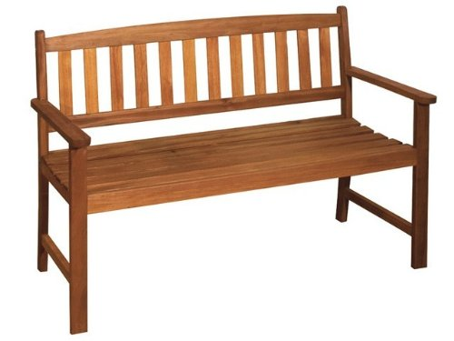 2-Sitzer Gartenbank Holz Bank Trop. Hartholz Nr. 960278