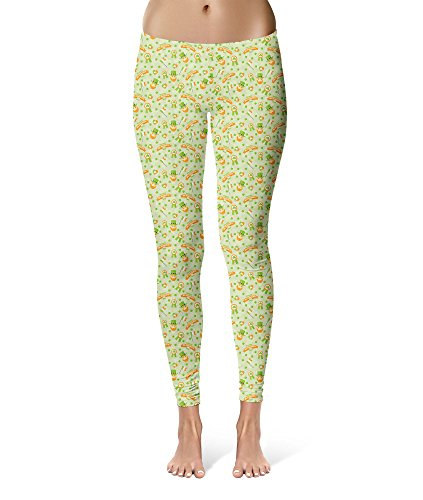 St Patricks Day Sport Leggings - S