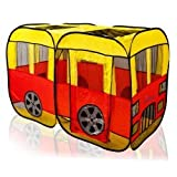 Children' s Red & Yellow City Bus design - Best Reviews Guide