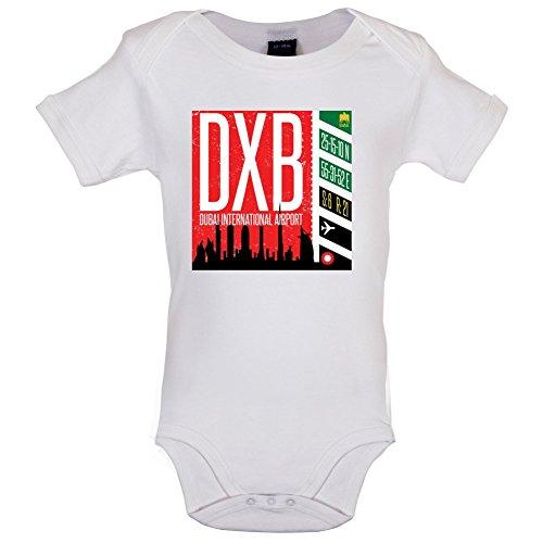 Dubai Flughafen - Lustiger Baby-Body - Weiß - 12 bis 18 Monate