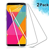 IRROT Pellicola Vetro Temperato per Samsung Galaxy S9 Plus, [2-Pack] Pellicola Protettiva per Samsung Galaxy S9 Plus, HD Chiaro, Senza...
