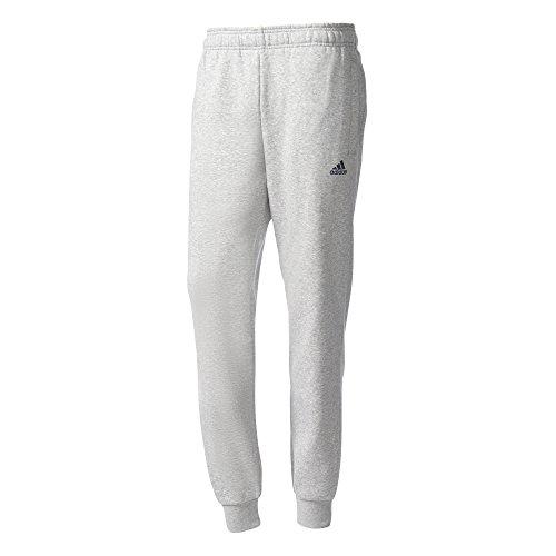 adidas Herren Essentials Tapered Fleece Hose Medium Grey Heather/Collegiate Navy, 2XL Preisvergleich