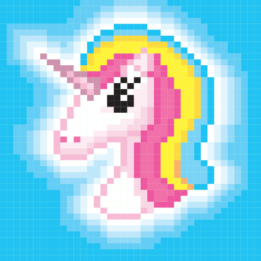 Pixel Art - Color By Number! Coloring Book for adults, kids and ...