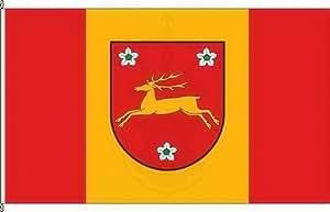 Königsbanner Hissflagge Retzow - 60 x 90cm - Flagge und Fahne