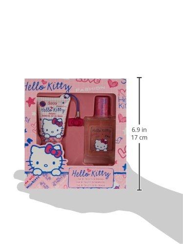 Hello Kitty Scribble EDT Geschenkset, 1er Pack (1 x 1 Set)