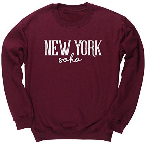 hippowarehouse-new-york-soho-kids-unisex-jumper-sweatshirt-pullover