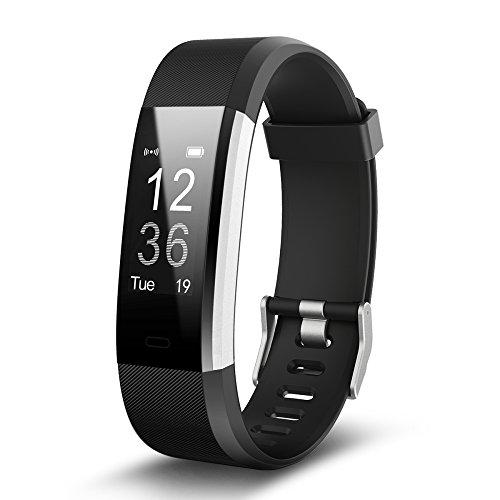 Johnson Smart Armband Schritt Abstand Überwachung Kalorien Überwachung Schlaf Überwachung Musik,Black (Kabel Abstand Grünes)
