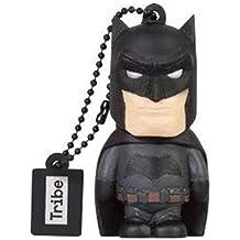 Tribe Warner Bros DC Comics Batman Movie - Memoria USB 2.0 de 8 GB Pendrive Flash Drive de goma con llavero, negro