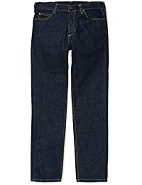 CARHARTT WIP - Jean - Homme - Jeans Tapered Fit Texas Hanford Bleu Lavé pour homme