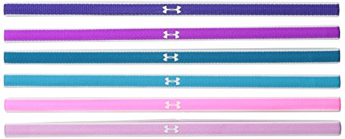 Under Armour Mädchen Fitness Stirnband Mini Headband, Strobe, OSFA, 1261472