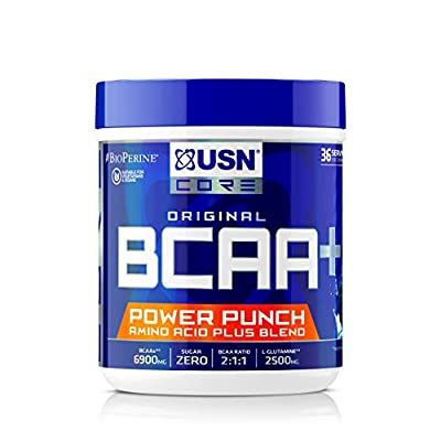 USN BCAA Power Punch Performance and Stamina Drink Powder - 400 g