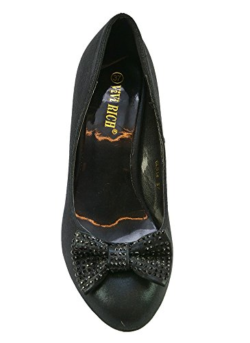 Escarpins de Soirée Noir Noir