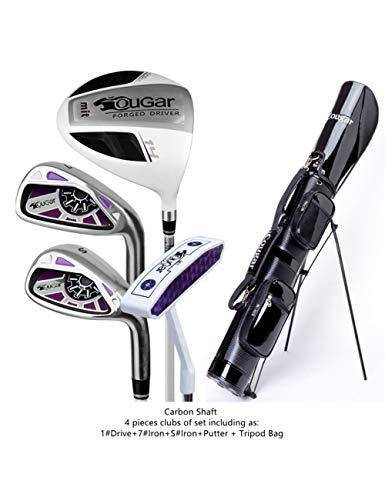 HDPP Golfschläger GolfDamen Damen Golfeisen Schläger Komplettsets Damen Golfschläger Voll4 pics Carbon T
