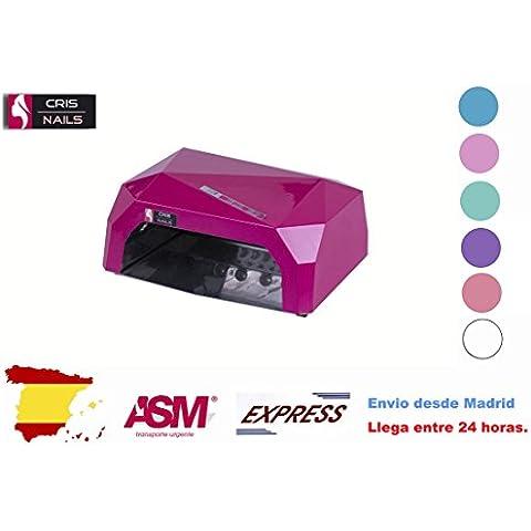 Cris Nails ® 36W Lámpara de Uñas Manicura CCFL CFL para Gel y Esmalte UV LED Secador Lámpara