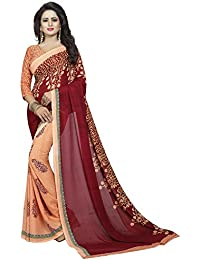 da3ad1c3ff8 ... Sarees   Eligible for Pay On Delivery. Tulip Georgette Printed  Contemporary Saree