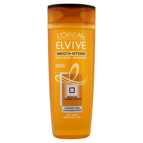 L'Oreal Paris Elvive Smooth-Intense Anti-Frizz Shampoo, 400ml