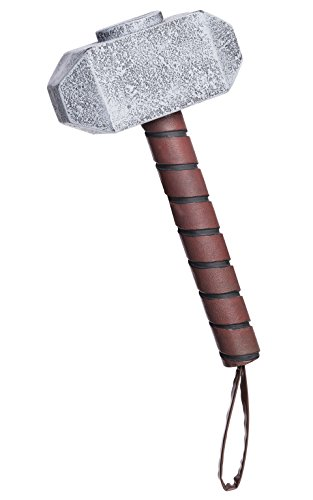 Rubie 's Offizielles Marvel Thor Hammer, Erwachsenen-Kostüm–One (Kostüme Thor Erwachsene Für)