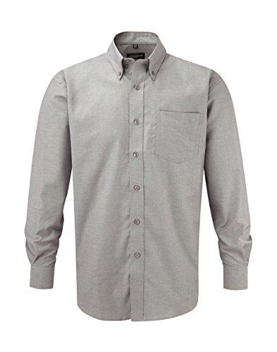 Preisvergleich Produktbild Russell Europe: Oxford Hemd LA R-932M-0 ,  Größe:5XL;Farbe:Silver