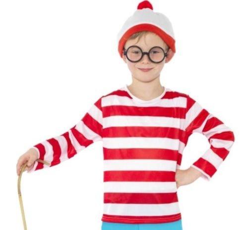 Kinder Wally Nerd Geek Kinder-Kostüm Kostüme und Zubehör (Waldo Kostüm Zubehör)