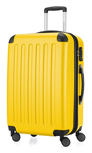 Hauptstadtkoffer - Hartschale Koffer Trolley Serie Spree 82 l gelb matt + 20,- Reisegutschein