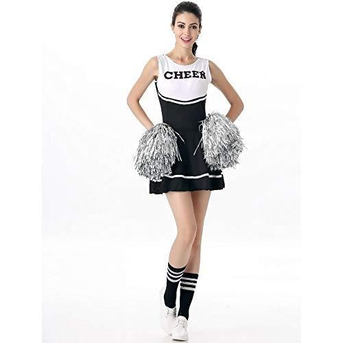 WWAVE Adult Sexy Babe Cheerleader Uniform Dame Zeigen Rock Cheerleader Kostüm