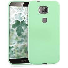 kwmobile Funda para Huawei G8 / GX8 - Case para móvil en TPU silicona - Cover trasero en menta mate