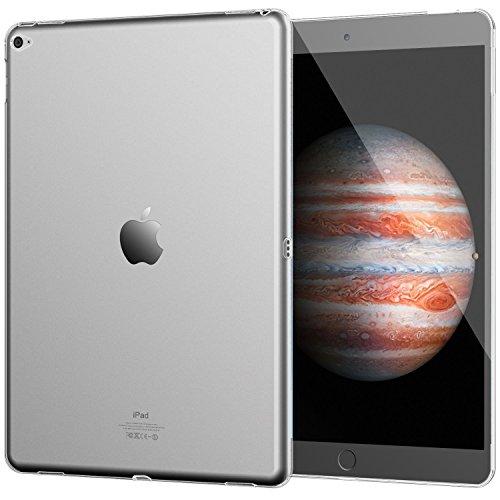 Galleria fotografica iPad Pro 9.7 GEL TRASPARENTE Custodia Apple iPad Pro 9.7 Cover MORBIDA Clear + Penna Capacitiva Stylus Pen