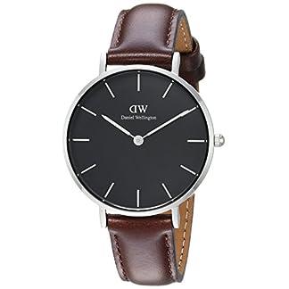 Daniel Wellington Reloj Analógico para Hombre de Cuarzo con Correa en Cuero DW00100177