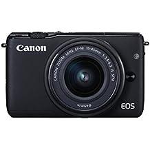 Canon EOS M10 Kit Fotocamera Mirrorless con Obiettivo EF-M 15-45 mm, 18 Megapixel, Nero