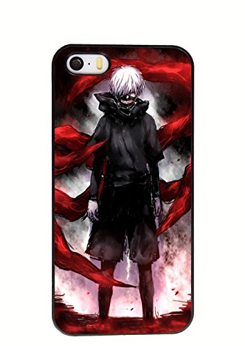Tokyo ghouls Anime cool Cosplay costume cell phone case Iphone 5/5s case (012)