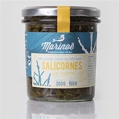 Queller eingelegt - 160g | knackiges Meeresgemüse | als Tapas oder zu Fisch und Salaten