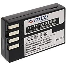 Sostituzione della batteria d-li109per pentax K-r, KR, K30, K 30, K 50, K 500