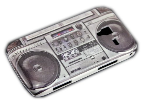 thematys Samsung Galaxy Ace 2 i8160 GHETTOBLASTER boombox Cover Schutz-Hülle Hard Case