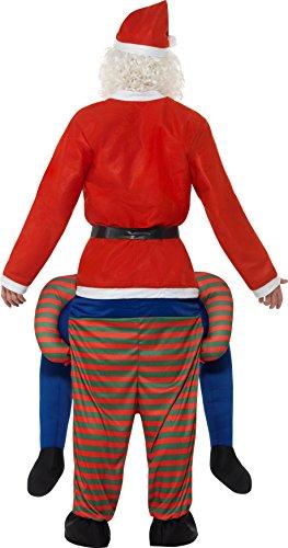 Imagen de smiffy 's 48817piggyback disfraz de elfo, color verde, talla única alternativa