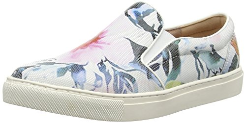 Moda in Pelle Ambra, Baskets Basses Femme
