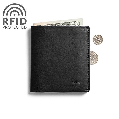 Bellroy Leather Note Sleeve Wallet Black – RFID