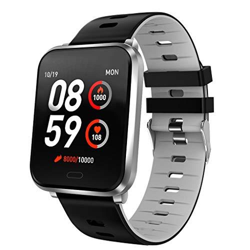 Altsommer Bluetooth Smart Watch Fitness Tracker, Aktivitäts Kalorie Tracker Pulsmesser SMS & SNS Erinnerung Tacking Sport Schrittzähler mit iOS Android SmartWatch IP67 Waterproof für Männer, Frauen