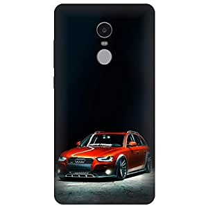 Mi Redmi Note 4 Hard Printed Cover By Mobi Elite