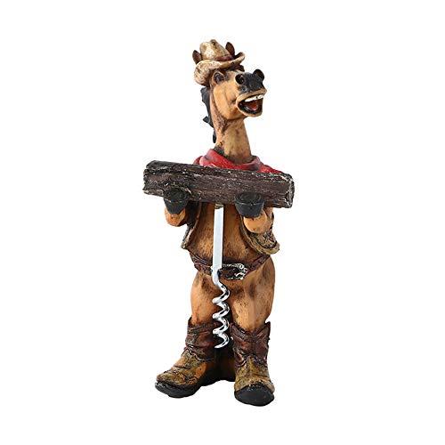 (STAY TRULY Kreative Weinflaschenöffner, American Western Cowboy Stil Flaschenöffner Set zu Hause Dekoration Ornamente, Geschenke für Freunde)