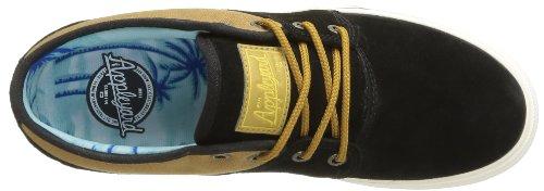 Globe Mahalo Unisex-Erwachsene Sneakers Schwarz (20054 black/brown)