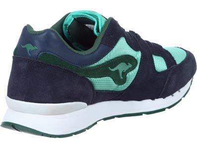 Kangaroos Coil-R1-Basic - Sneaker, , taglia Verde (dk navy lt baltic)