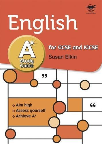 English A* Study Guide Study and Revision Guide for GCSE and IGCSE by Susan Elkin (2011-03-08)