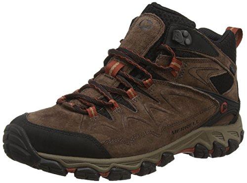 Merrell Serraton Mid Wtpf, Chaussures de Randonnée Hautes homme Marron (espresso)