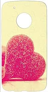 Toppings Designer Soft Printed Cover For Motorola Moto G5 Plus