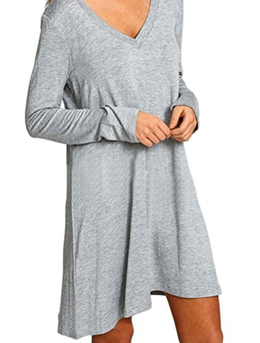 MatchLife -  Maglione  - Donna Style2-Gray