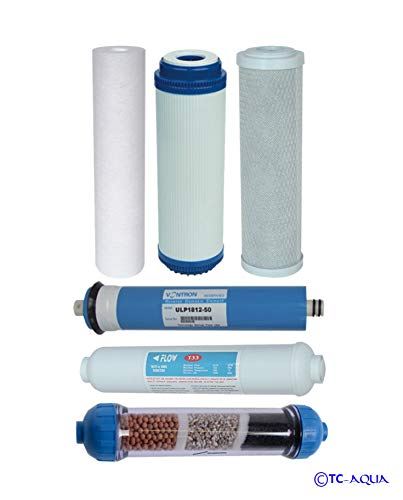 Filter-Set Aquamarin Umkehr-Osmose Wasserfilter 10